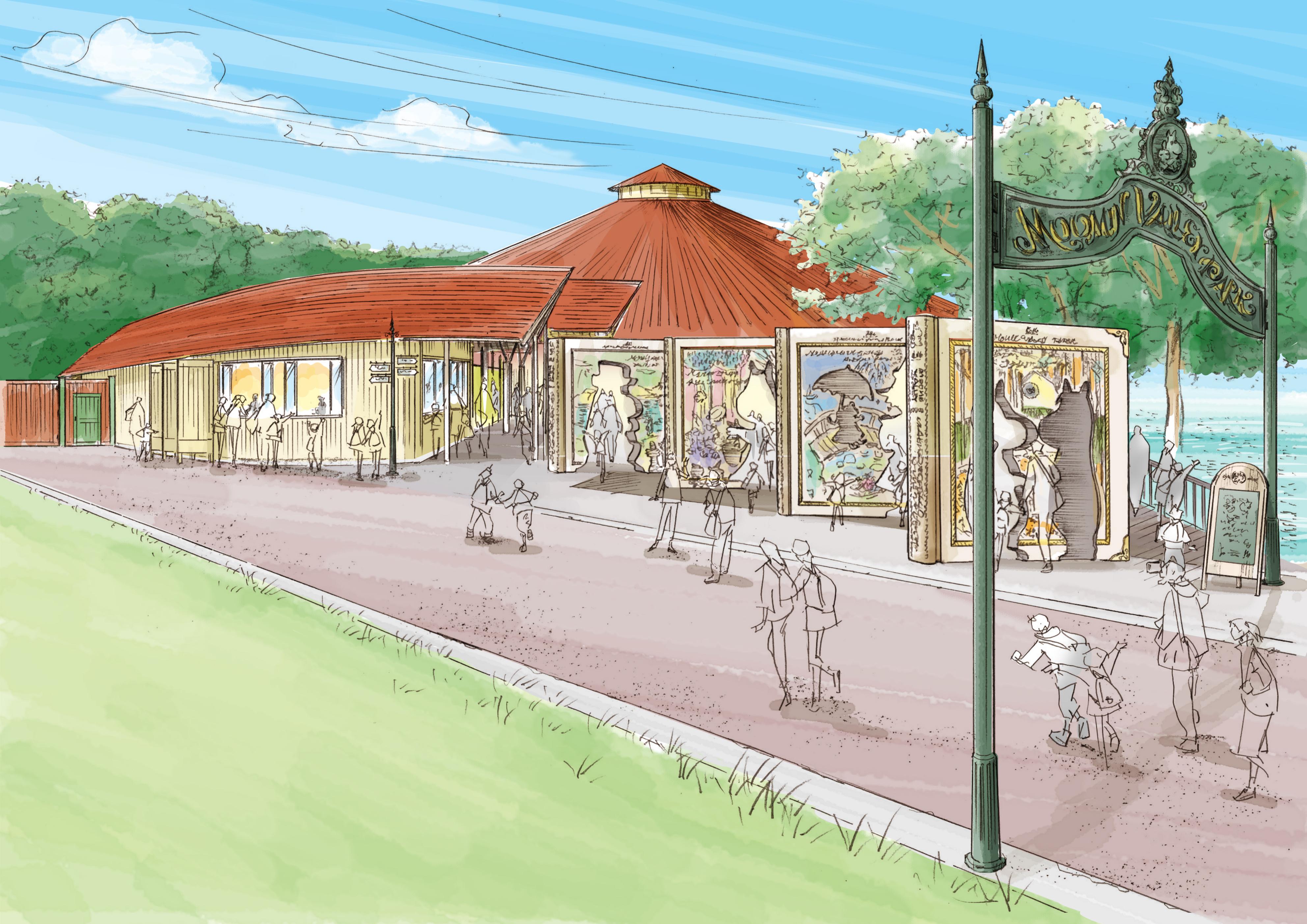 飯能市にムーミンの物語をテーマにした施設が3月16日にオープン!