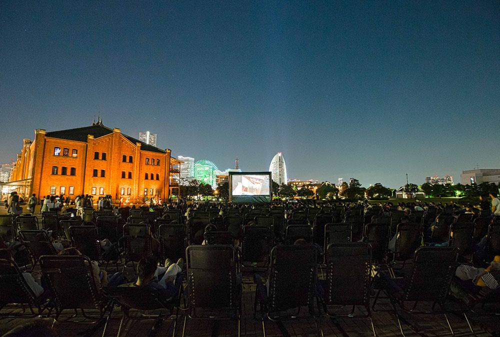 GW限定の野外シアターが登場!神奈川県横浜市の映画上映イベント