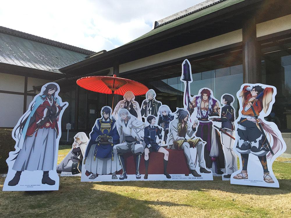 徳島県徳島市で日本の名刀と「刀剣乱舞」の原画を展示!