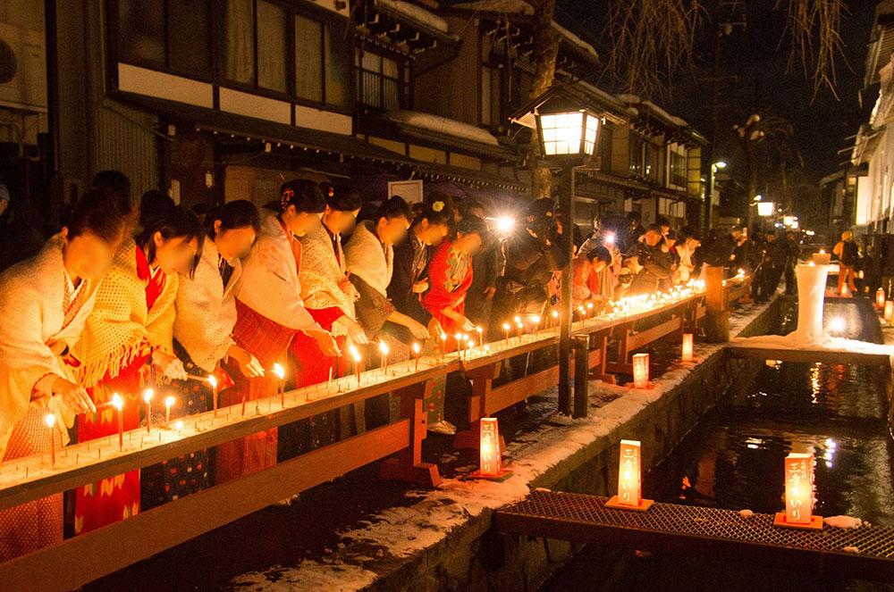 「君の名は。」の聖地、岐阜県飛騨市で縁結びを願う伝統行事が開催