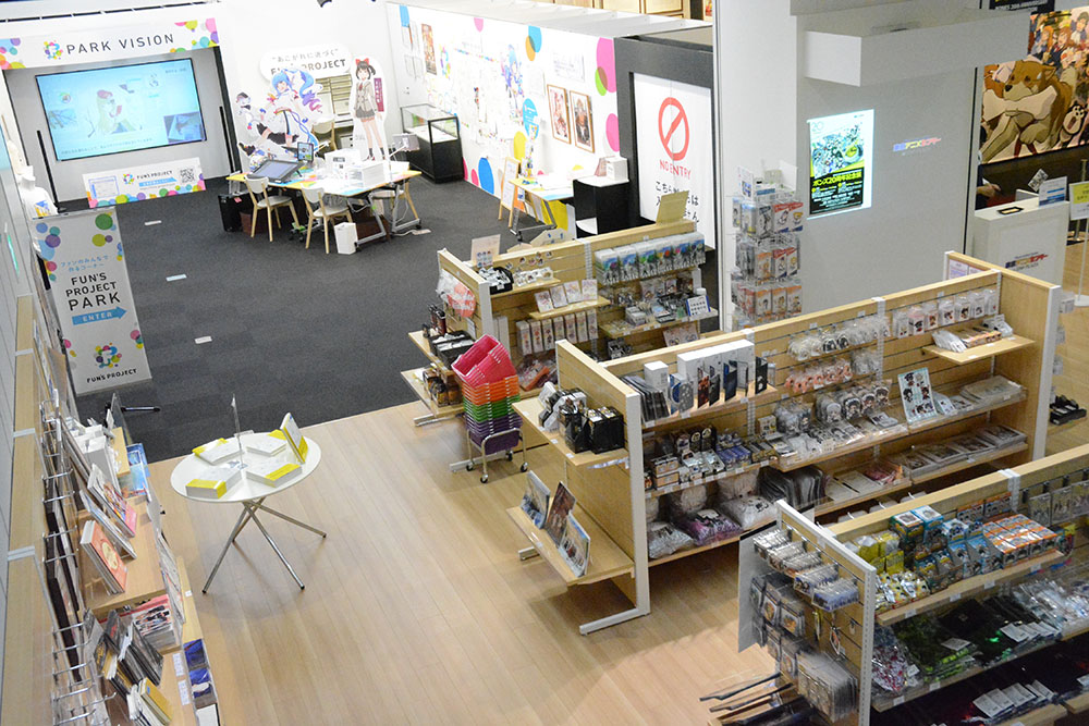 東京アニメセンター in DNPプラザ