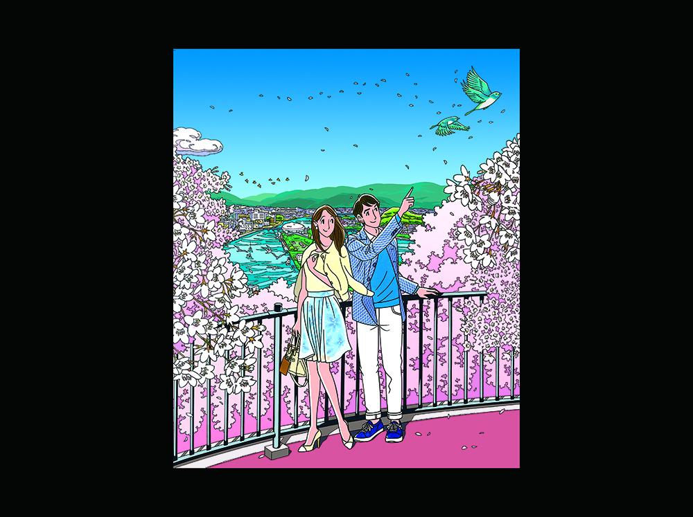 色彩豊かに描かれた「ハートカクテル」の原画を石ノ森萬画館で鑑賞!