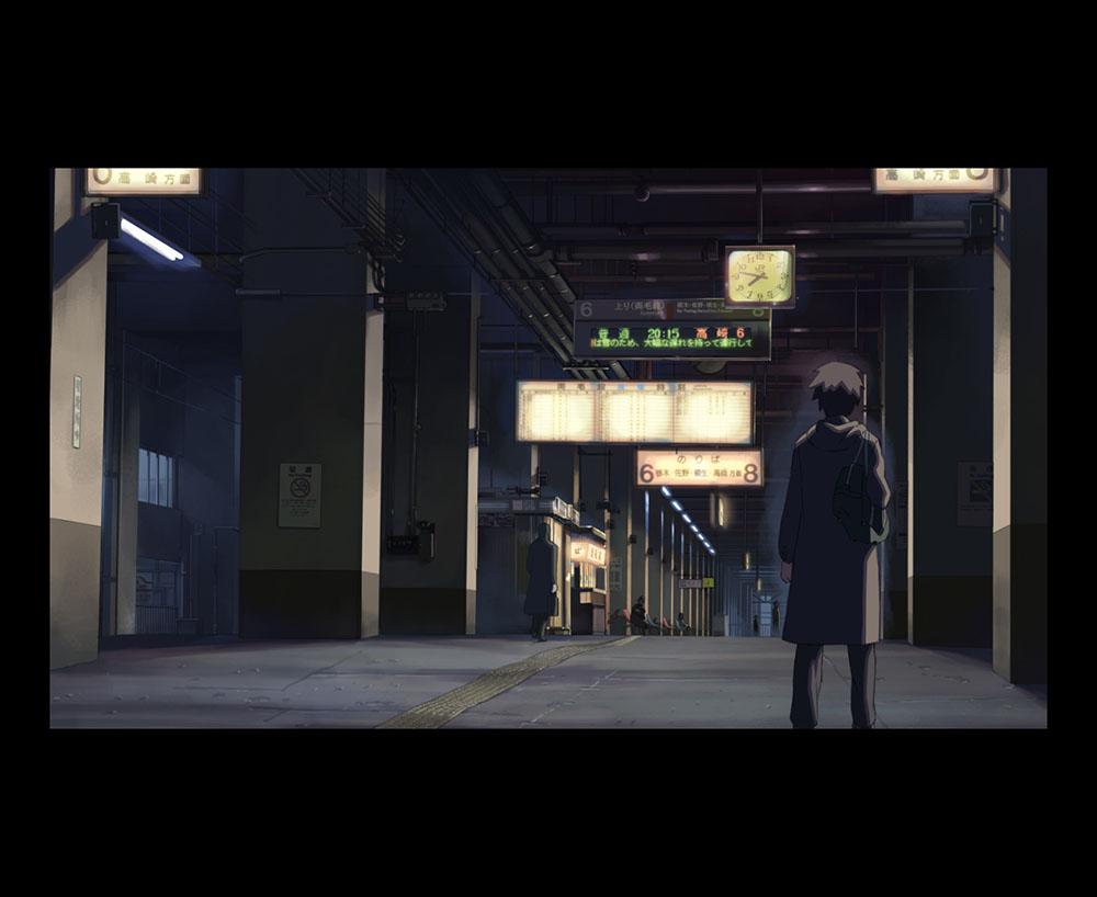 「秒速5センチメートル」の劇中曲がJR小山駅の期間限定BGMに決定!