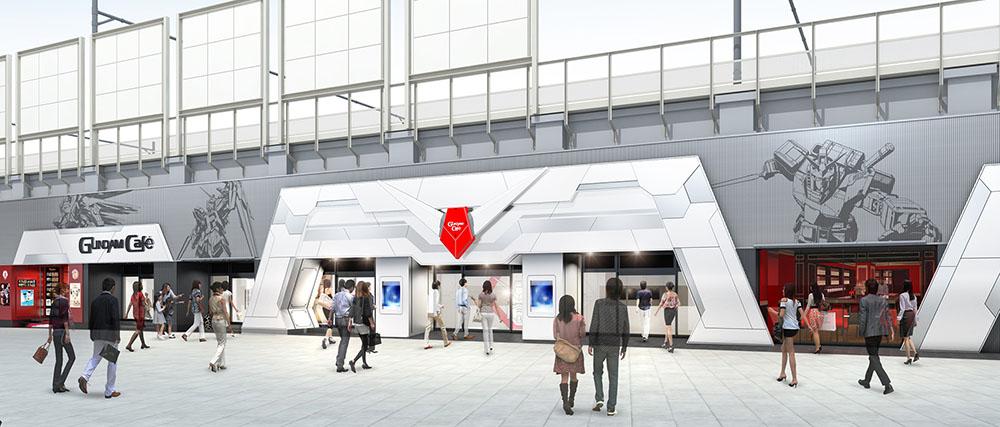 GUNDAM Cafe秋葉原店が新たに生まれ変わってオープン!
